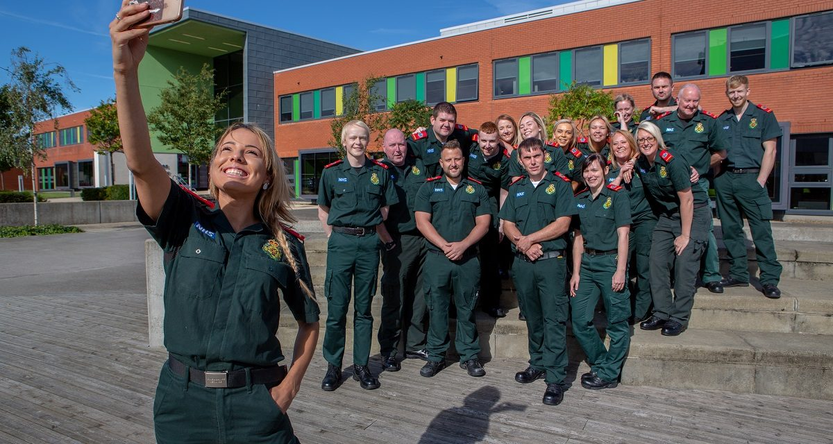 University named as one of UK's top lifesavers thanks to paramedic training