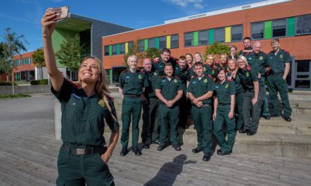 University named as one of UK's top lifesavers thanks to paramedic training