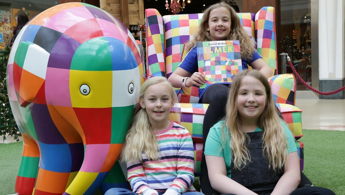 ScS present storybook star with his own customised armchair