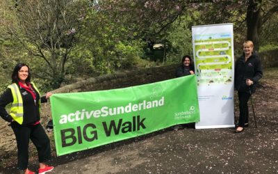 Get involved in National Walking Month in Sunderland