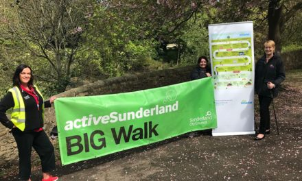 Get involved in National Walking Month in Sunderland