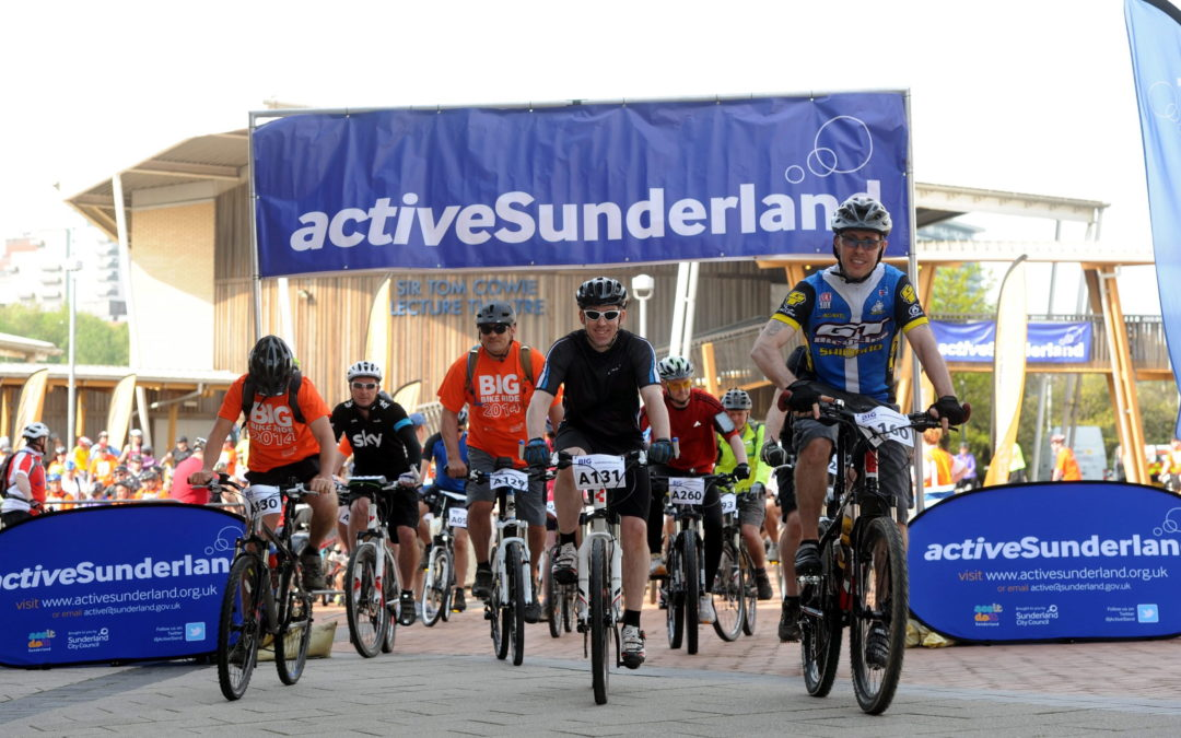 Hundreds sign up for the ride