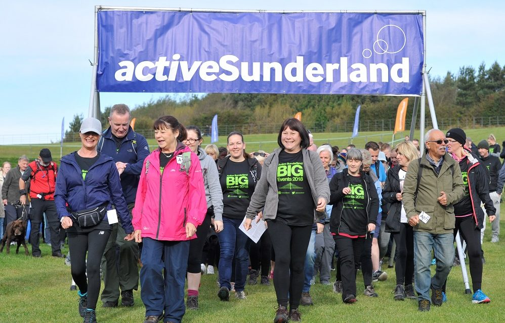 Entries open for Active Sunderland BIG Walk