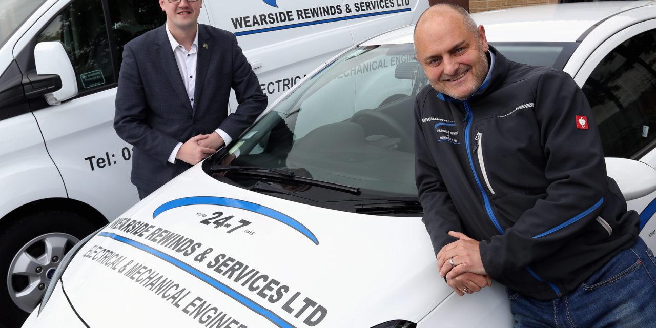Sunderland electric motor repair business is creating new jobs