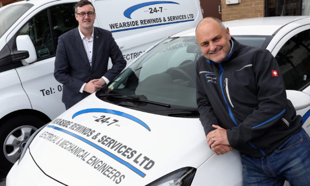 Sunderland electric motor repair business is creating new jobs