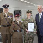 Sunderland student nurse milestone oath to serve her country