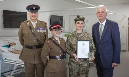 Sunderland student nurse milestone oath to serve her country