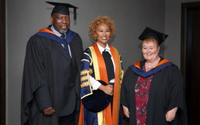 Emeli Sandé MBE installed as Chancellor of the University of Sunderland