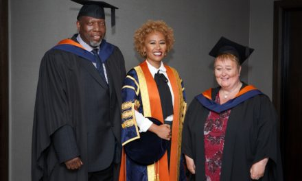 Emeli Sandé MBE installed as Chancellor of the University of Sunderland