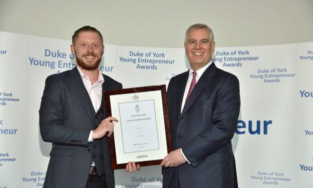 Royal award for Sunderland business discovering Swedish IT talent
