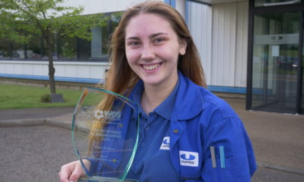 Unipres apprentice named in Top 50 Women in Engineering