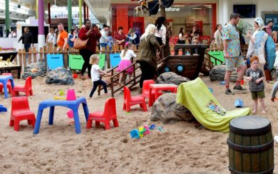 Enjoy a day at the beach at Sunderland shopping centre