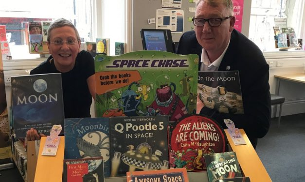 Summer reading challenge is out of this world