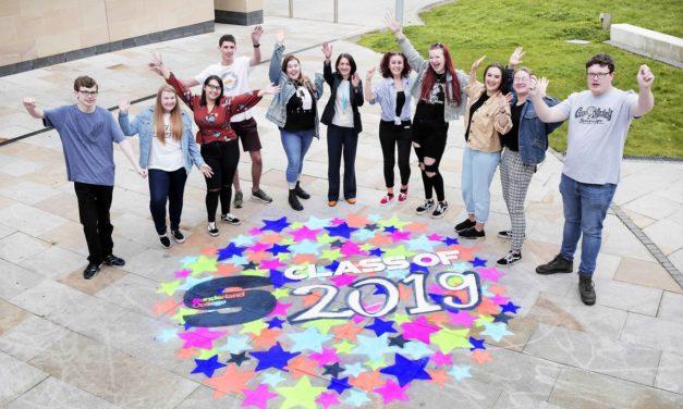 Sunderland College students celebrate vocational results