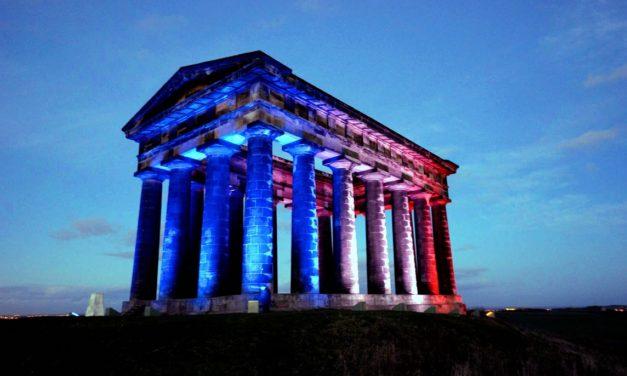 Landmarks lit up to welcome World Transplant Games