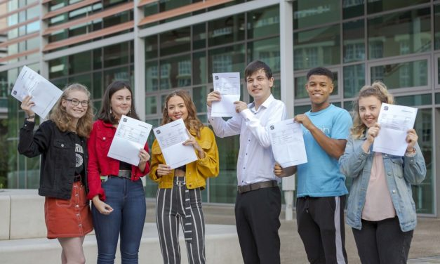 College group celebrates record A-Level results