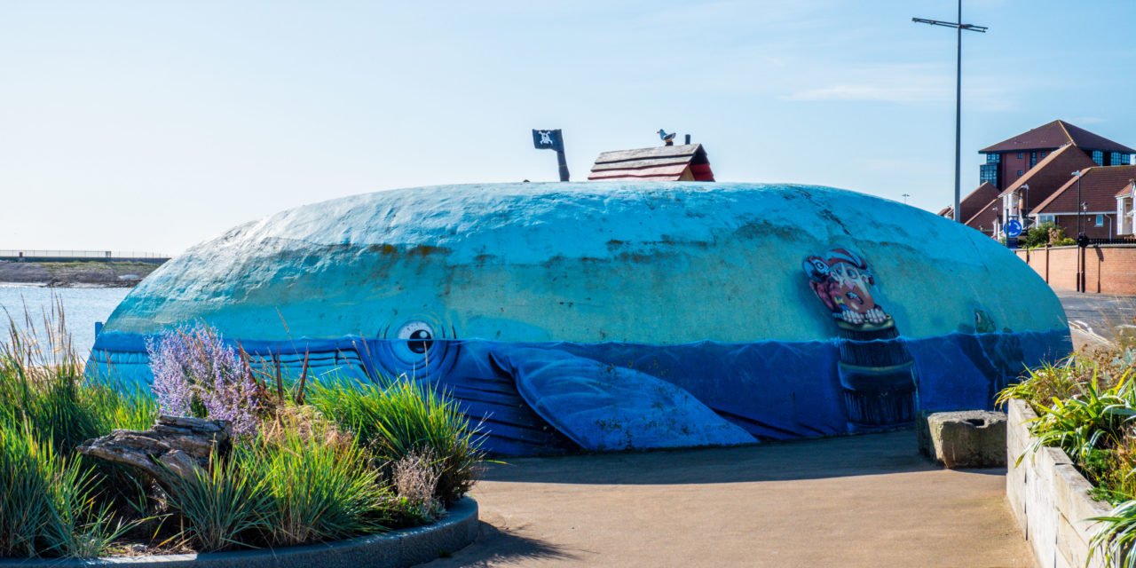 Fishy facelift for much loved mural