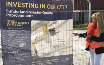 Minster Quarter Access Road opens to traffic
