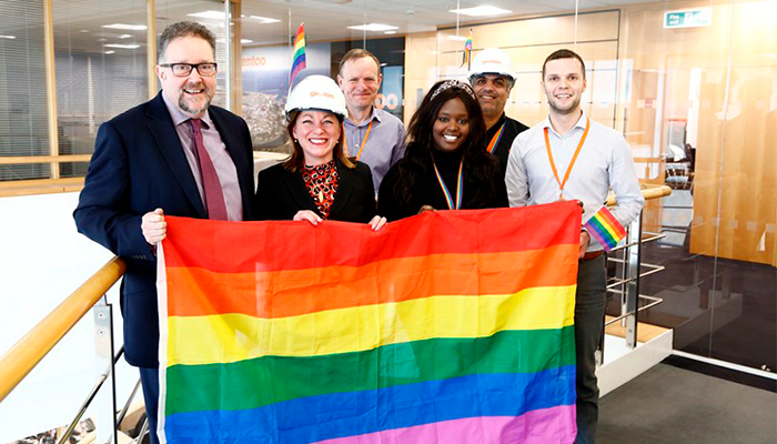 GENTOO ANNOUNCED AS TOP HOUSING ASSOCIATION ON STONEWALL'S TOP 100 LGBT EMPLOYER LIST
