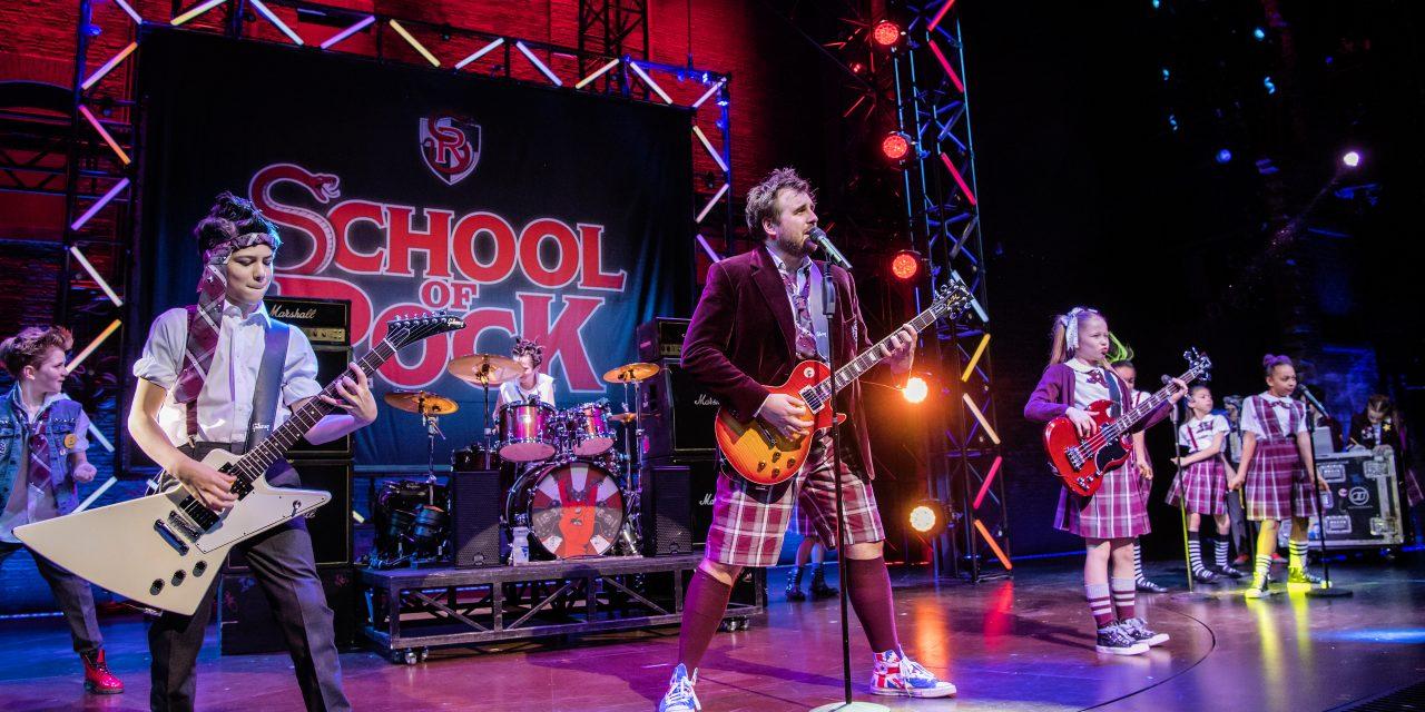 School of Rock at Sunderland Empire 2021