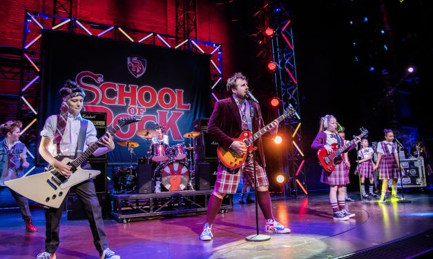 School of Rock at Sunderland Empire 2021