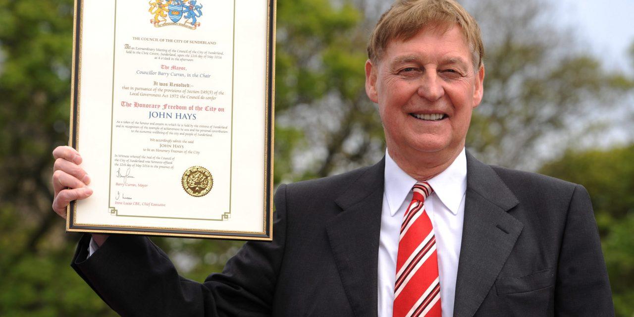 Remembering John Hays: Sunderland Landmarks To Pay Tribute