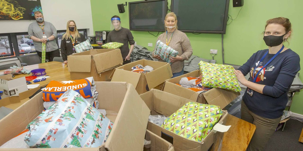 We Care at Christmas: University of Sunderland Appeal Passes £10,000 Mark