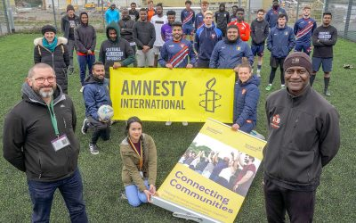 Sunderland Joins Football Welcomes Refugees Campaign