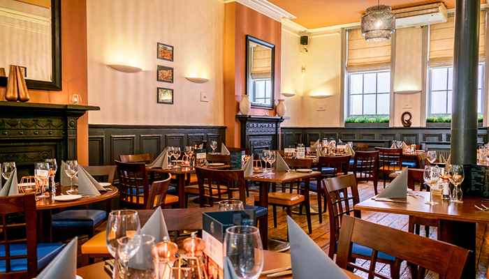 Angelo's Ristorante, set within a Grad II listed building in Sunderland
