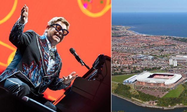 Elton John Announces 2022 Sunderland Show At Stadium Of Light