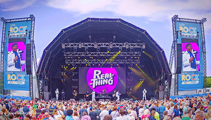 Let's Rock The North East music festival takes place at Herrington Park, Saturday 21st August 2021