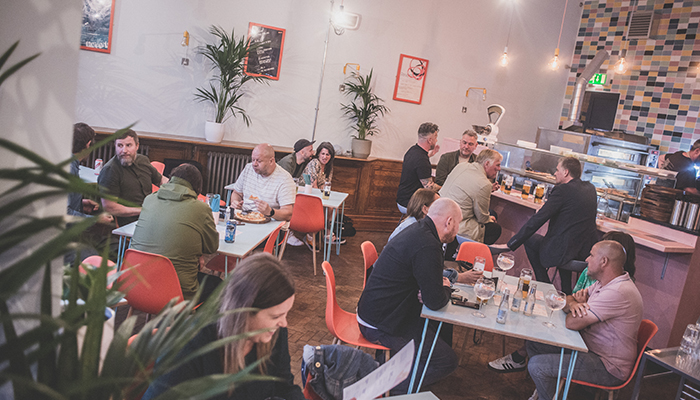 Dining area, Proven People, Sunderland