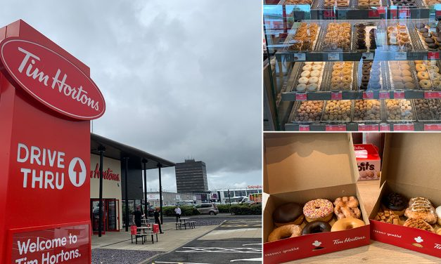 FIRST LOOK: Check Out Tim Hortons' New Washington Restaurant