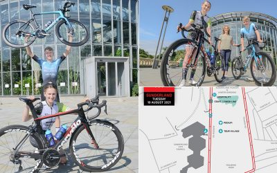 TOUR SERIES: Professional Cycling Event Comes to Sunderland