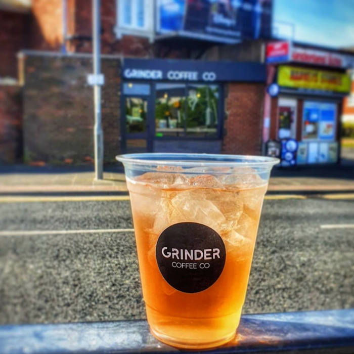 Grinder Coffee Co coffee shop in Sunderland