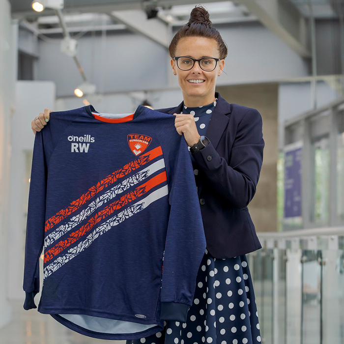 Rebecca Welch made history as the first woman to be appointed referee in the EFL