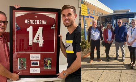 Jordan Henderson's Family Fundraising £85k For Sunderland Royal Hospital
