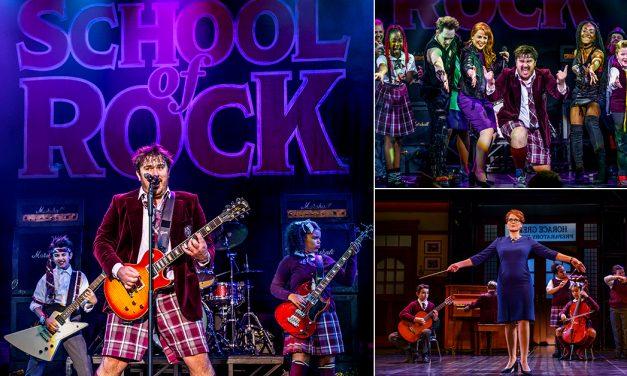 THEATRE REVIEW: School of Rock, Sunderland Empire