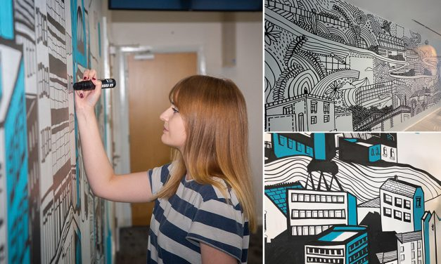 Meet Kathryn Robertson, the Artist Behind Sunderland's Stunning Murals!